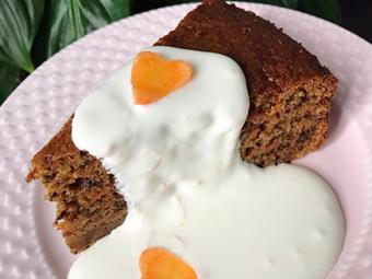 Zabpehelylisztes répatorta – gluténmentes húsvéti finomság